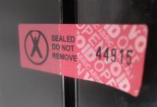 Kertas Lock Security Labels